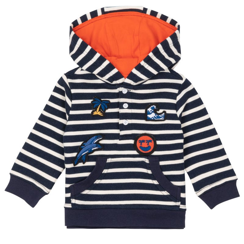 Paddle Out Striped Hoodie 1224