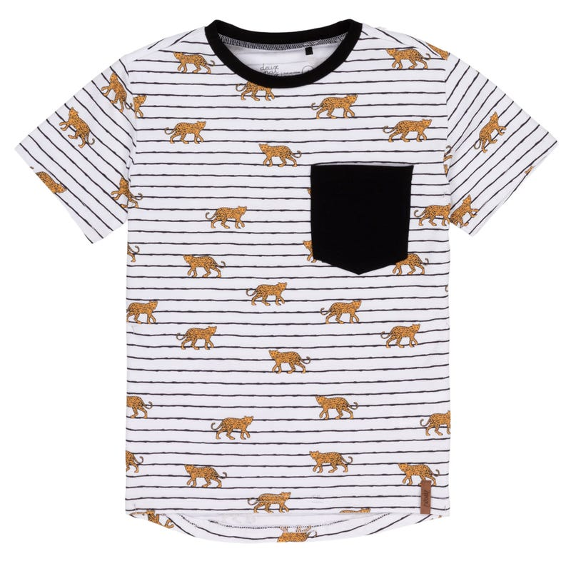 Cheetah Pocket T-Shirt 3-6