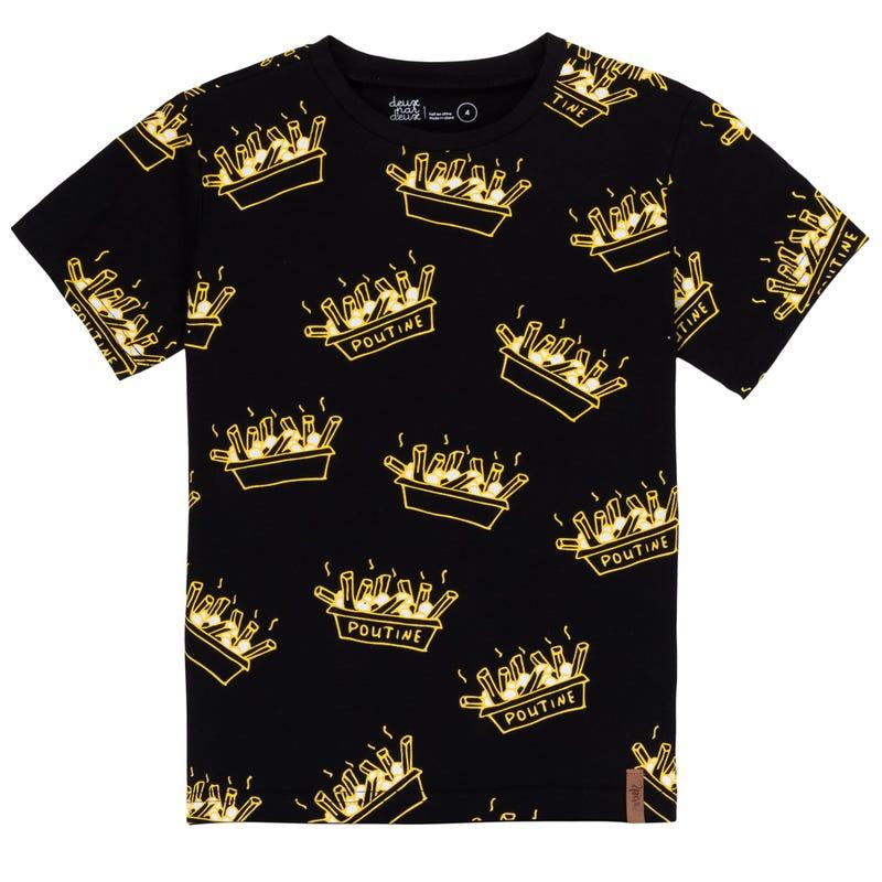 T-Shirt Poutine 3-6