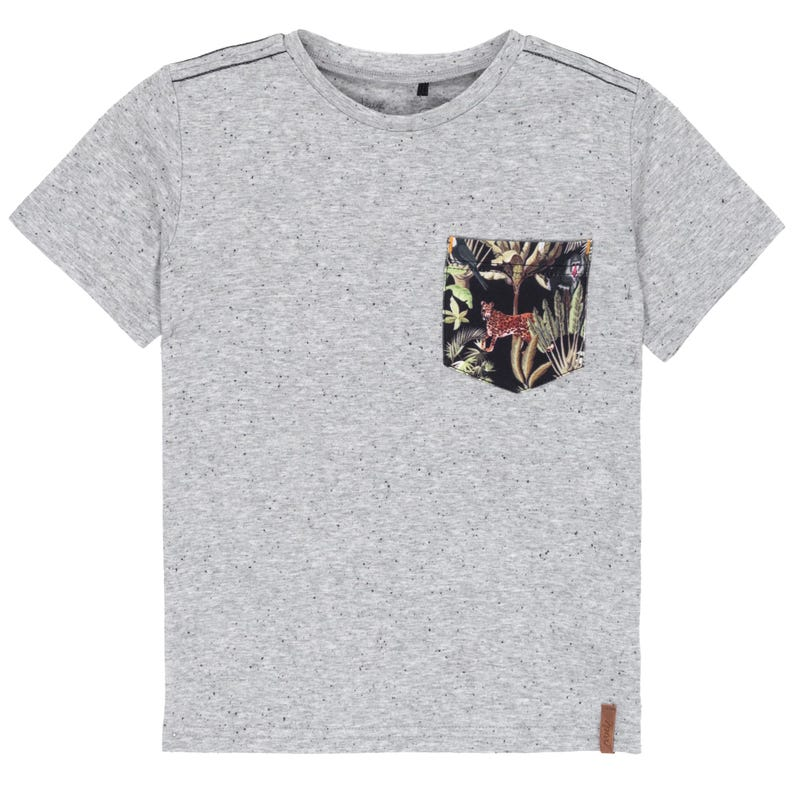 T-Shirt Poche Jungle 3-6