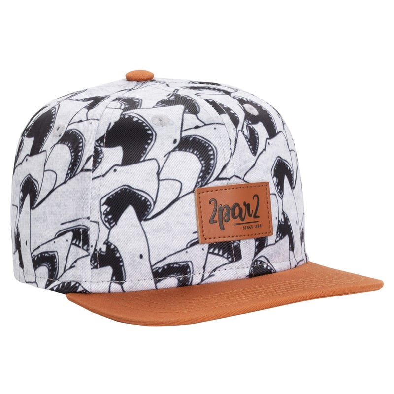 Printed Cap Shark 3-12y
