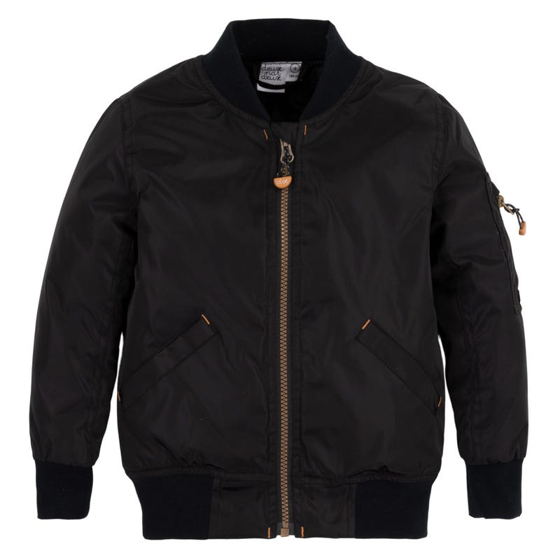 Black Bomber Jacket 4-6y