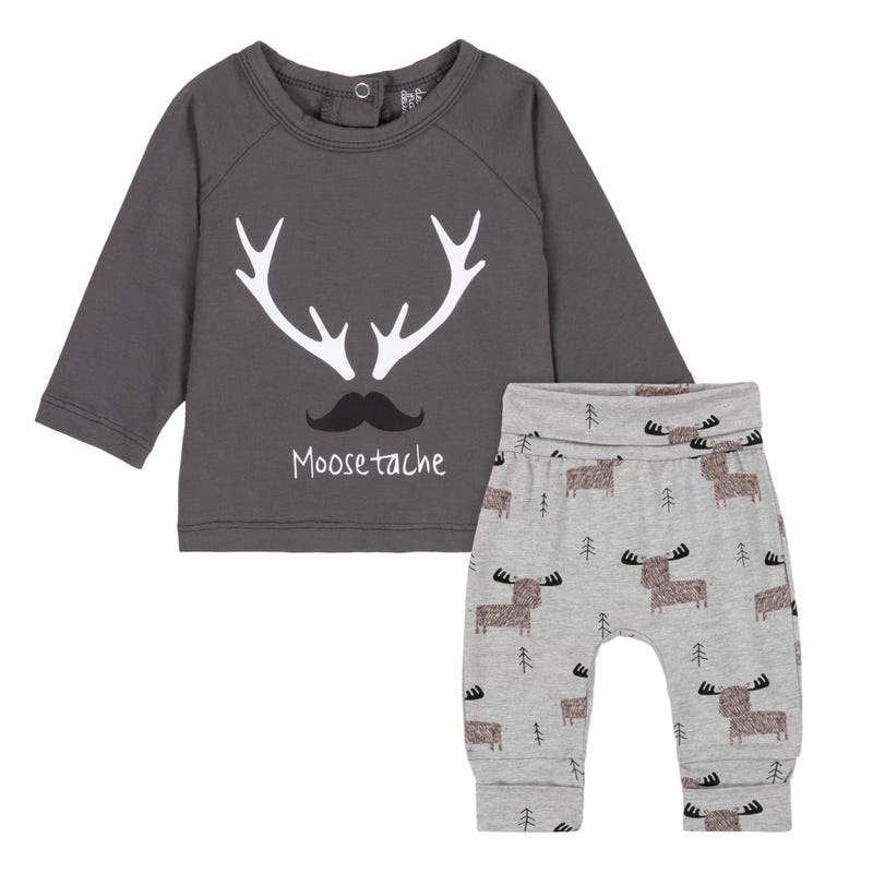 Deer Evolutive Pants Set 12-24