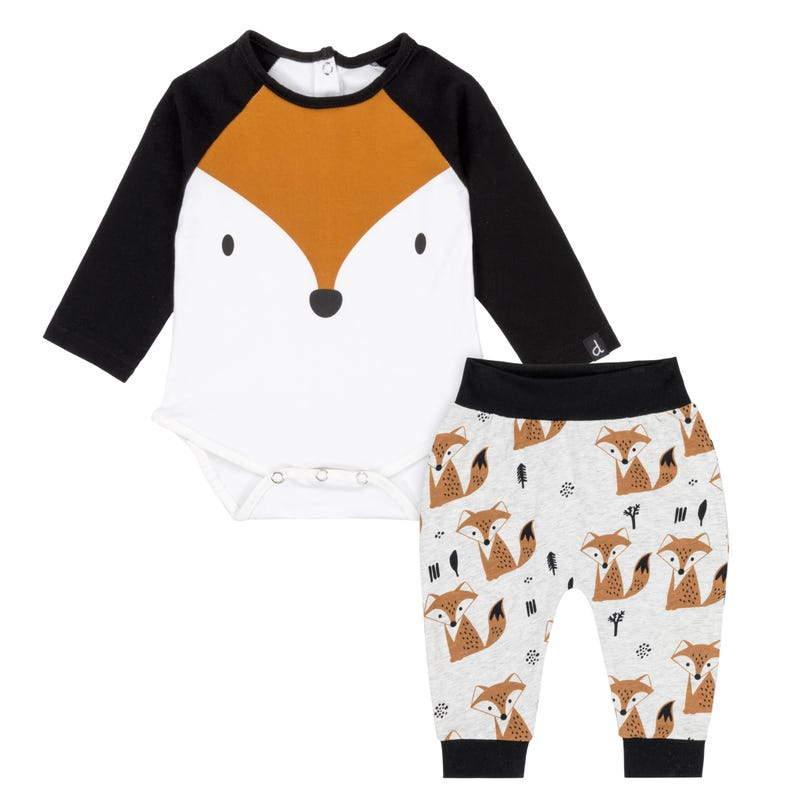 Friends Fox Pant Set 6-24m