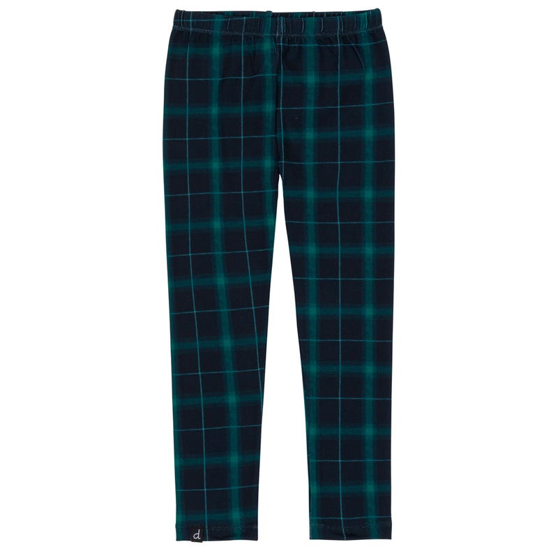 Doe Plaid Tregging 3-6