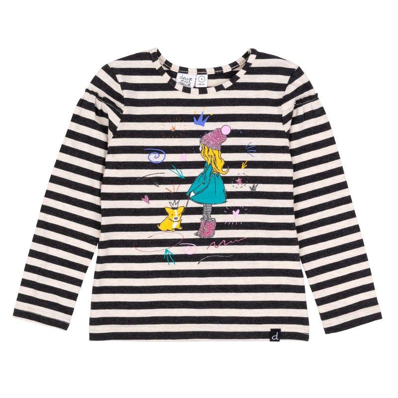T-Shirt Rayé Corgi 7-10ans