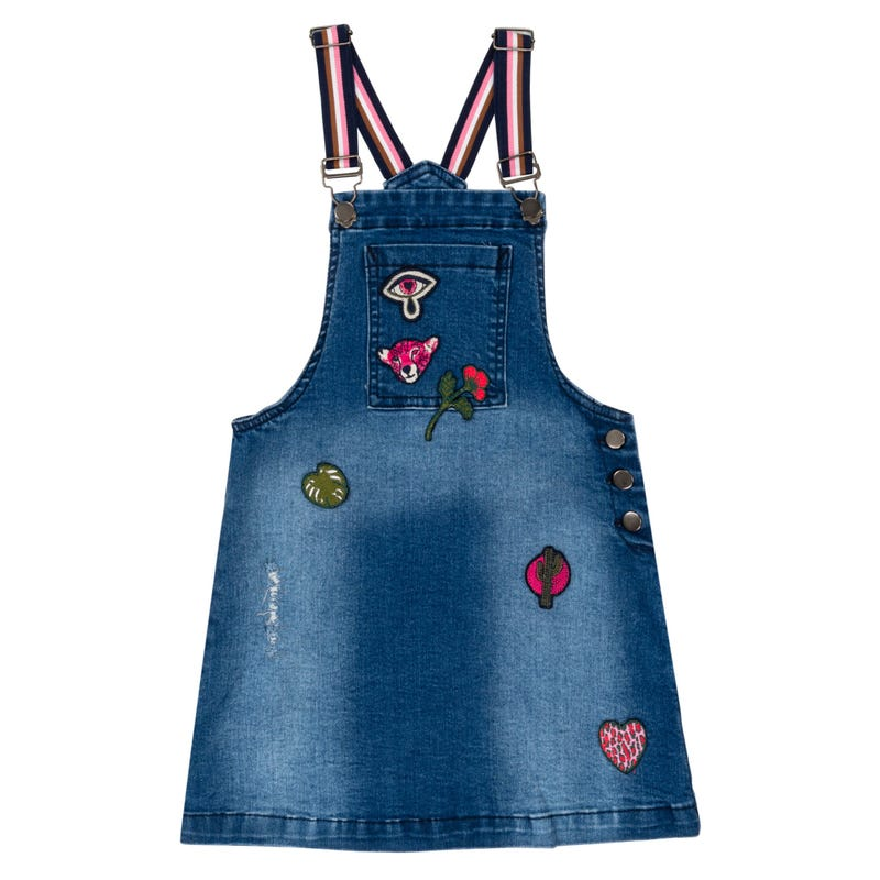 Chasuble Denim Cheetah 3-6ans