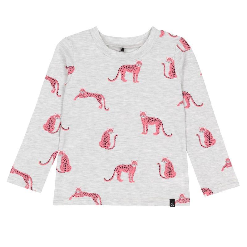 T-Shirt Imprimé Cheetah 3-6ans