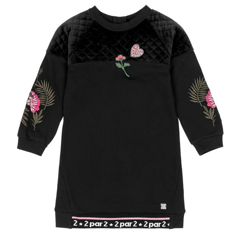 Cheetah Velvet Dress 7-10