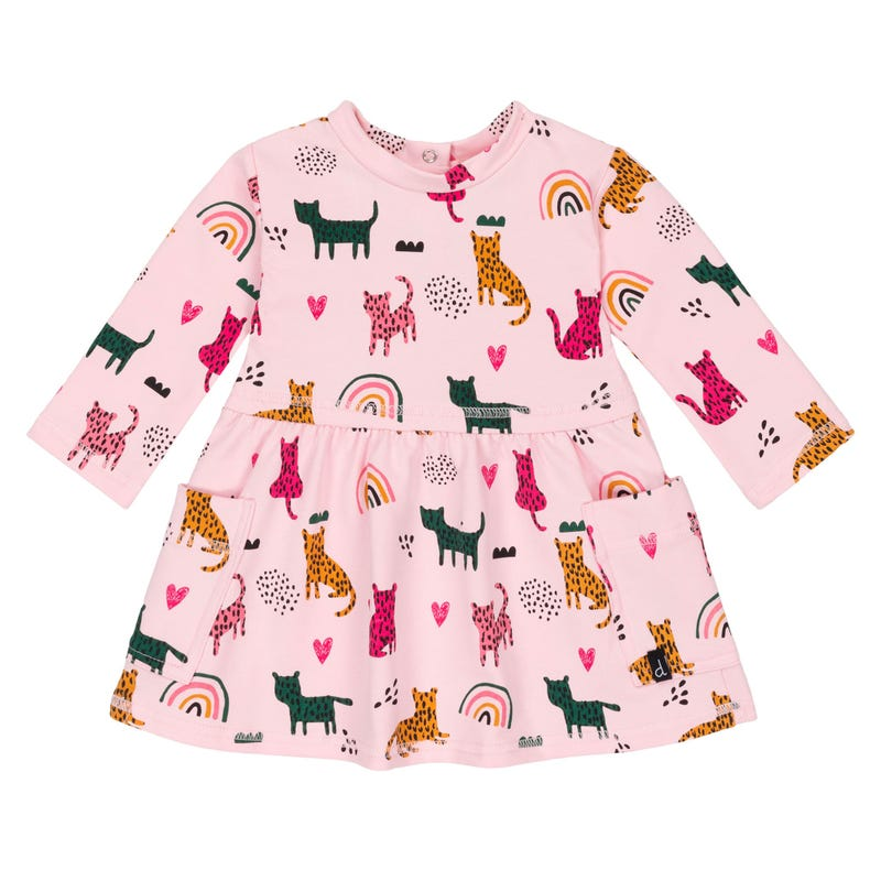Cheetah Dress 12-24m