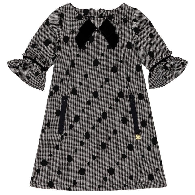 Chic Dots Dress 3-6