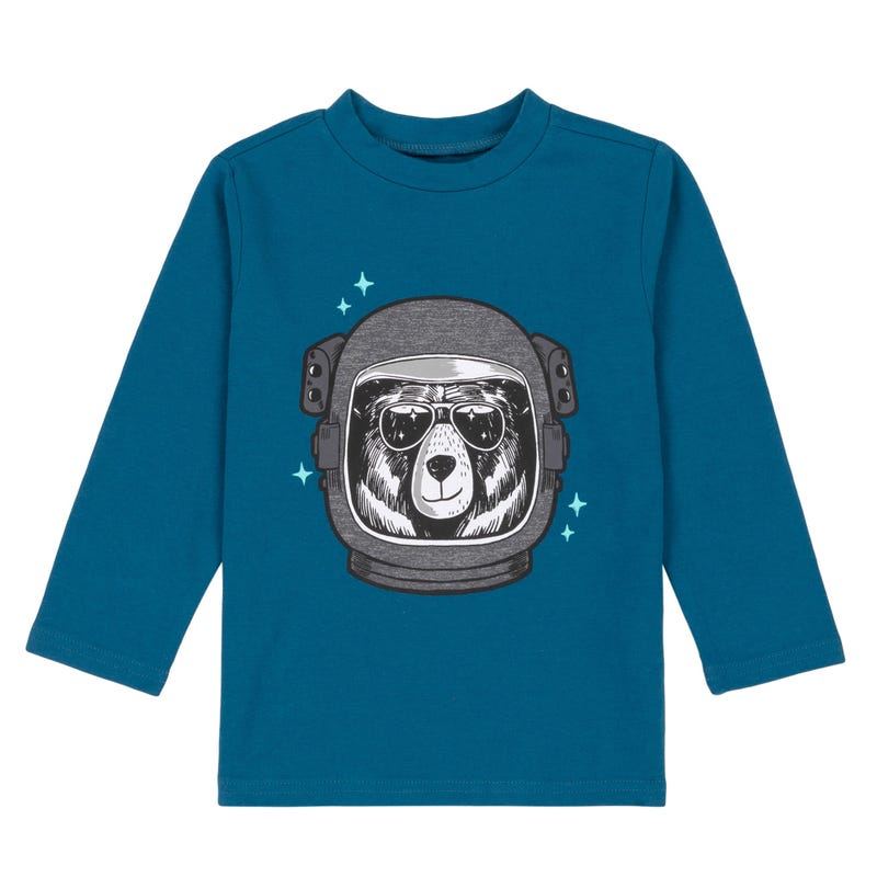 T-Shirt Astronaute Lune 12-24m