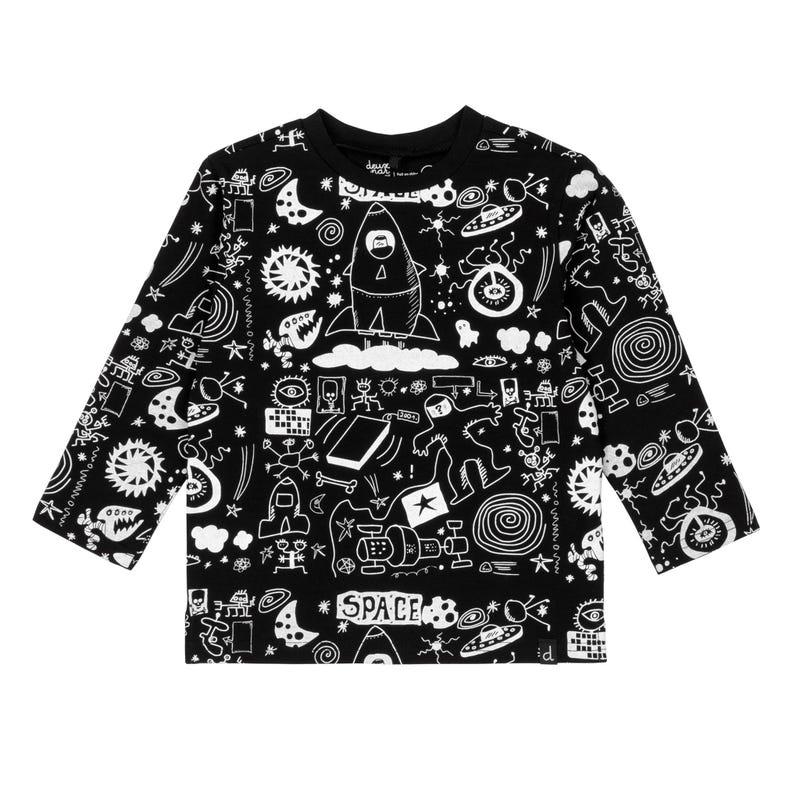 T-Shirt Imprimé Lune 12-24m