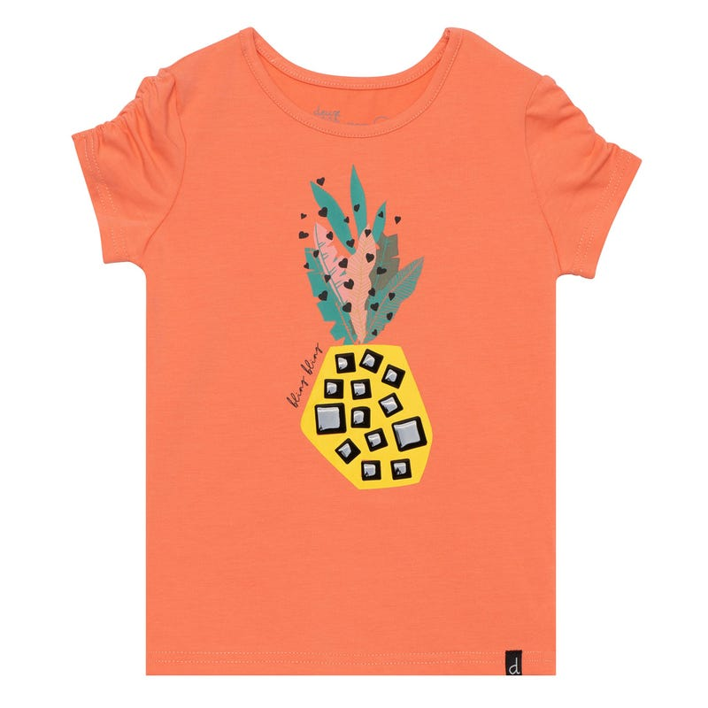 T-Shirt Ananas Brousse 7-10ans