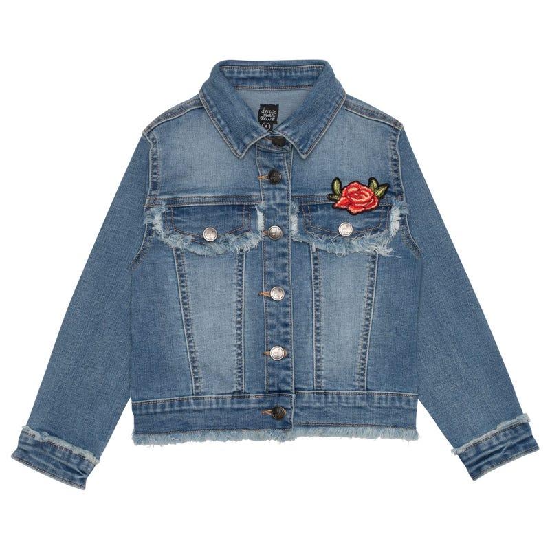 Veste Jeans Romance 7-10ans