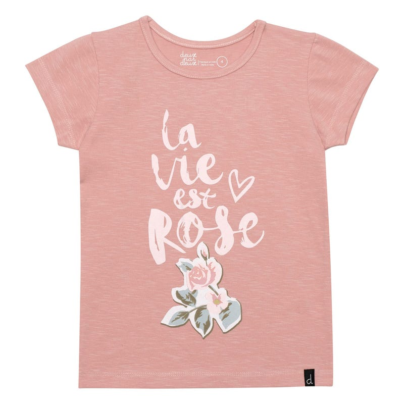 T-Shirt Romance 7-10ans