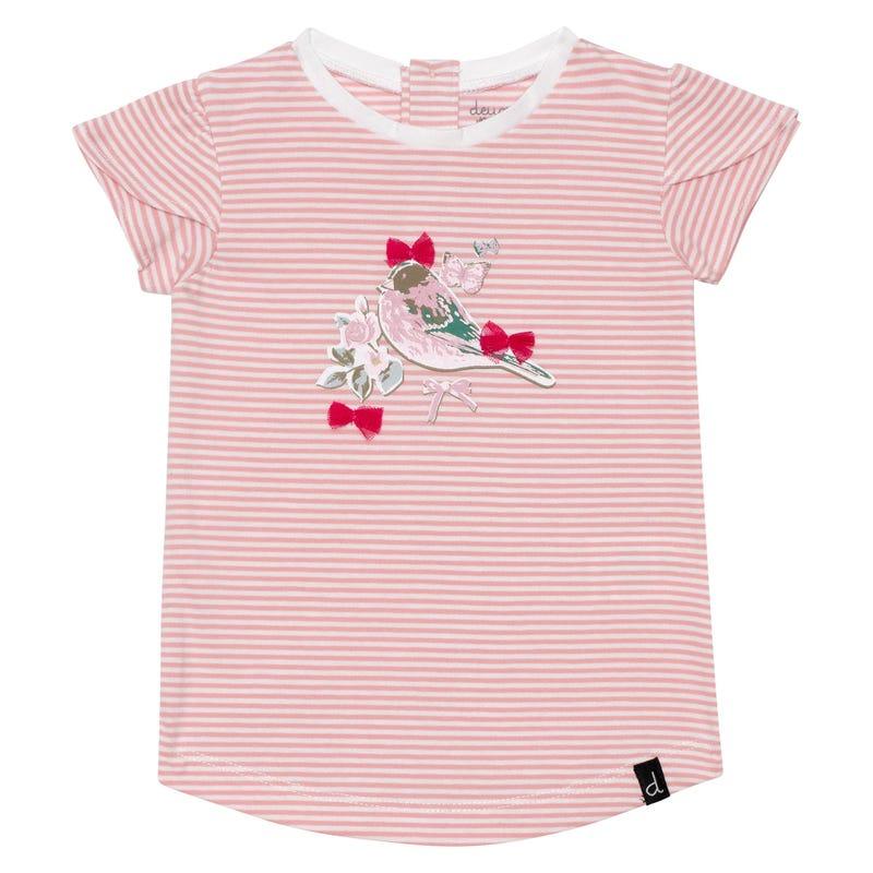 T-Shirt Rayé Romance 12-24mois