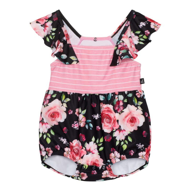 Flowers Swimsuit 3-24m