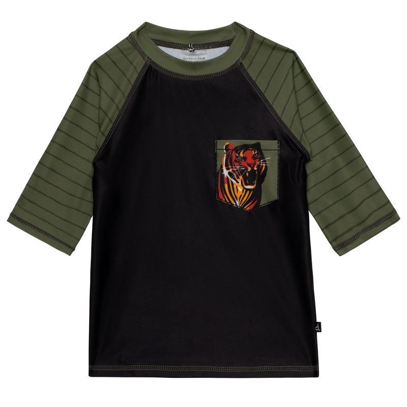 T-Shirt Maillot UV Tigre 7-10ans