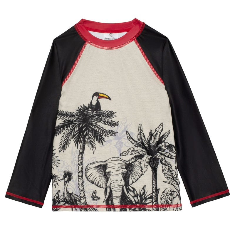 T-Shirt Maillot Jungle 7-10ans