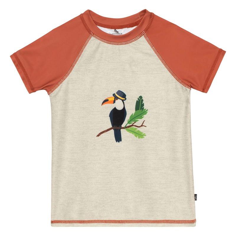 T-Shirt Maillot UV Toucan 2-6ans