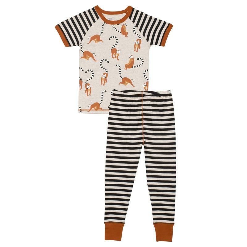 Lemur Pajamas 3-6y