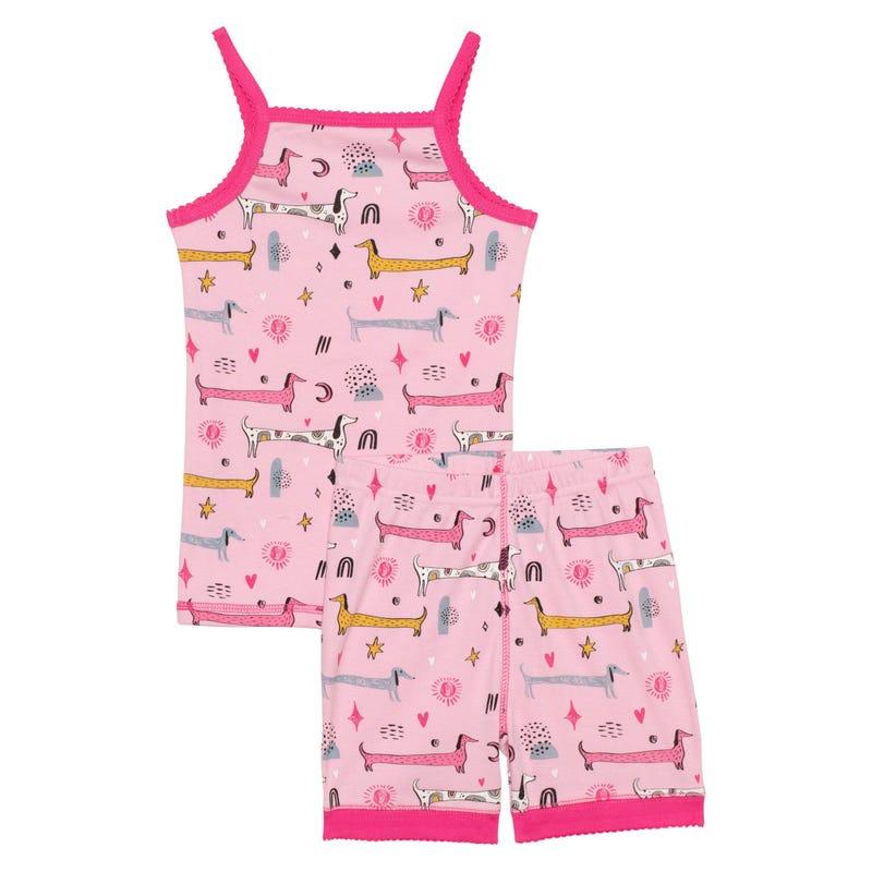 Pyjama Court Chiens 3-6ans