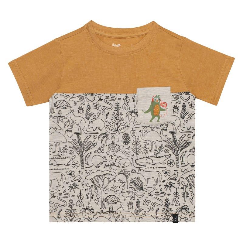 T-Shirt Poche Tasmanie 3-6ans