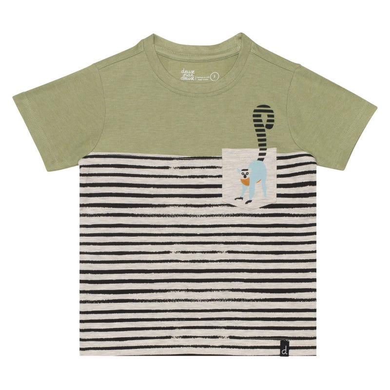 T-Shirt Lémurien Tasmanie 3-6ans