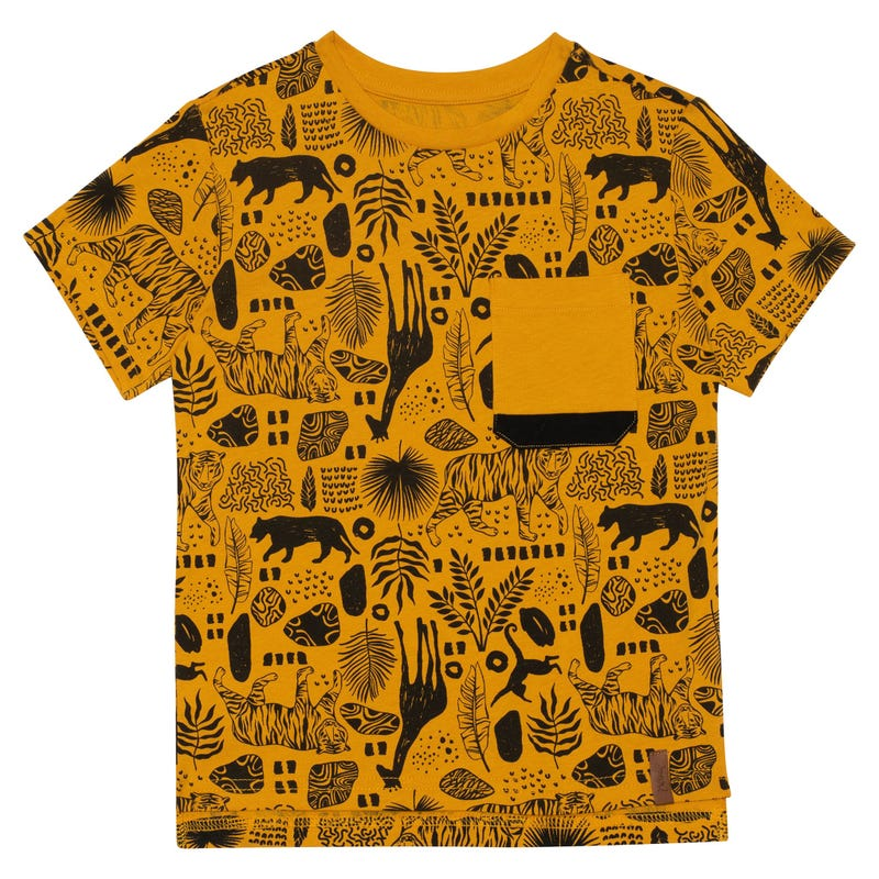 T-Shirt Poche Jungle 3-6ans