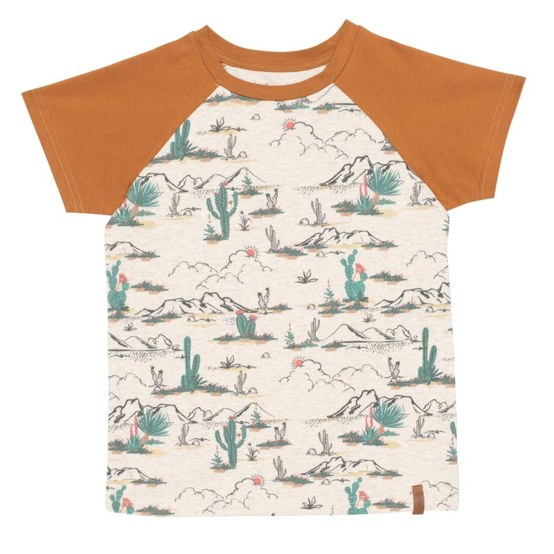 T-shirt Raglan Désert 7-12ans