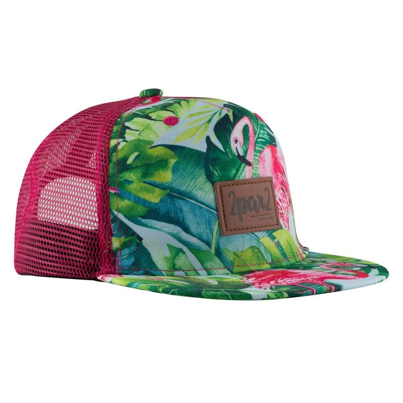 Flamingo Printed Cap 3-12y