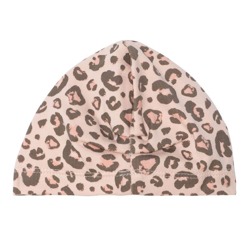 Leopard Print Turban 3-24m