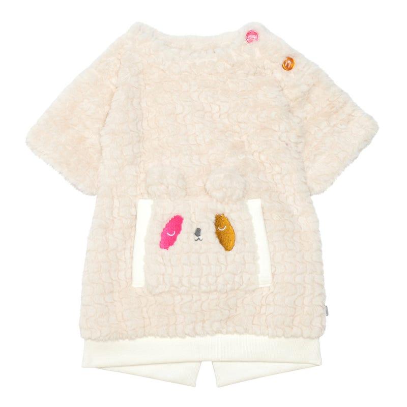 Girolle Plush Dress 12-24m