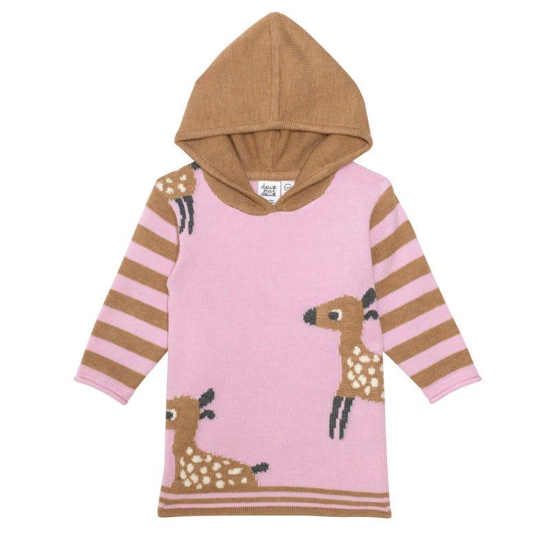 Girolle Hooded Dress 12-24m