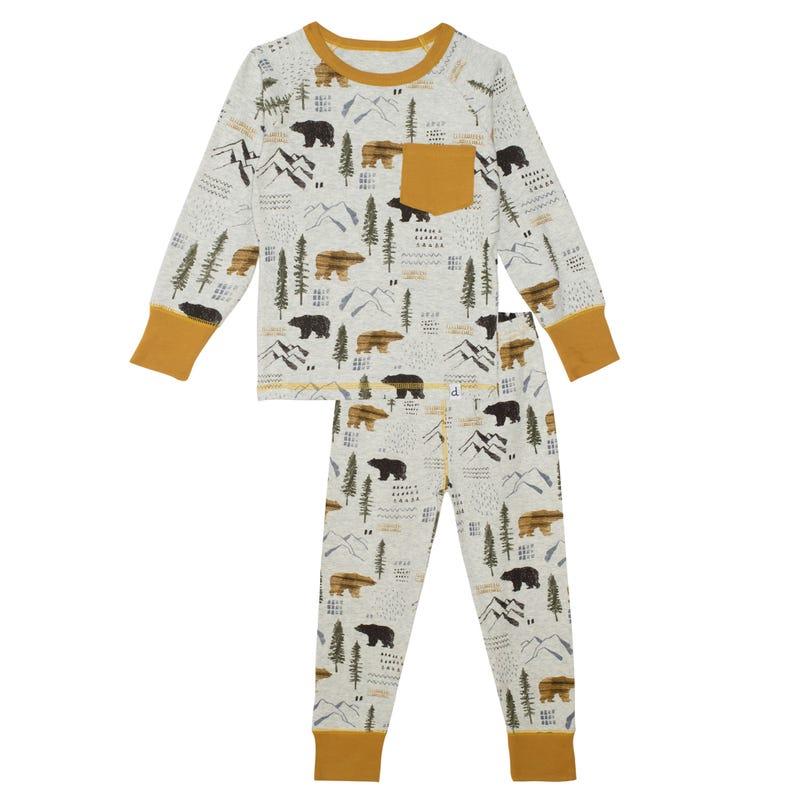Bear Pajamas 3-6y