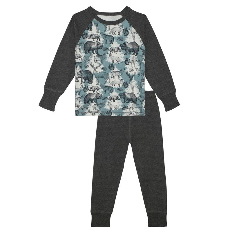 Forest Pajamas 7-10y
