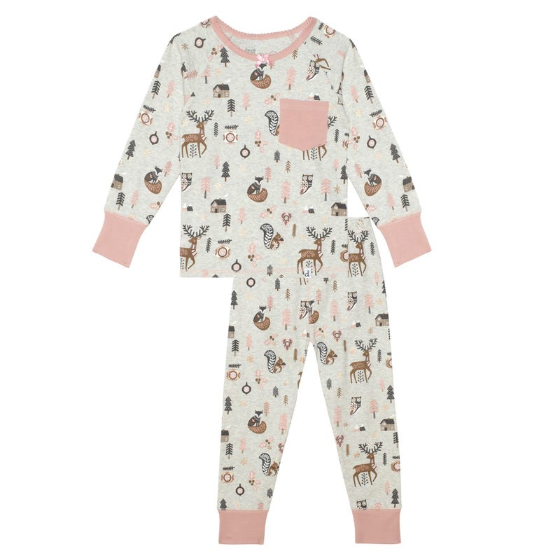 Forest Pajamas 3-6y