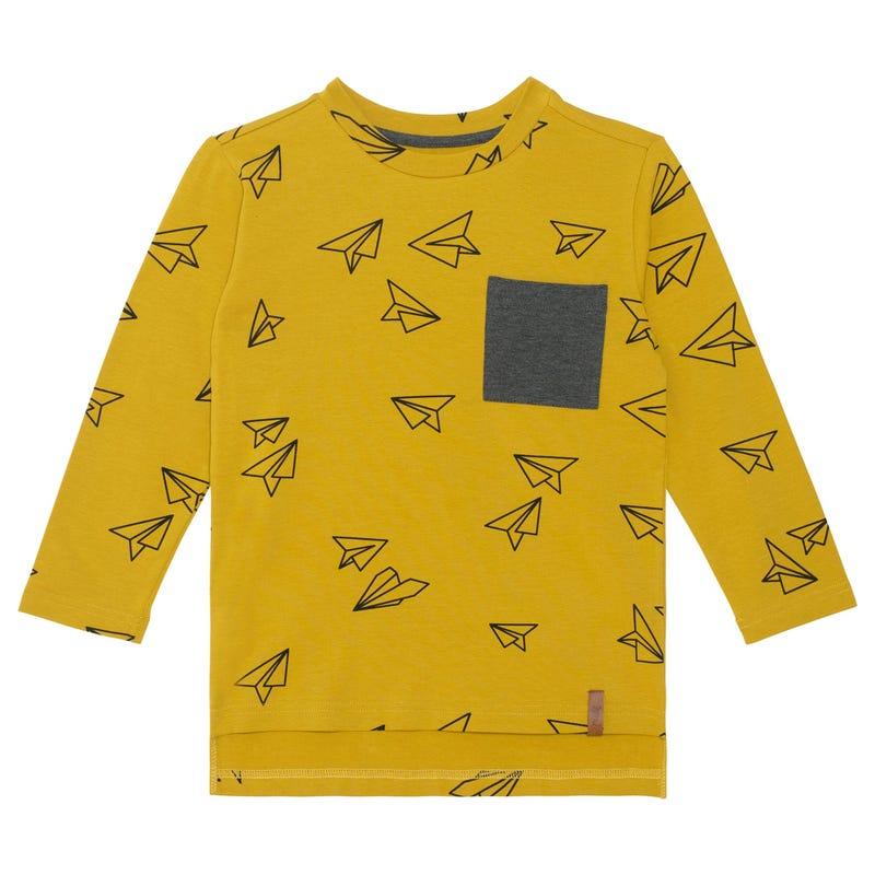 T-shirt Avion Papier 3-6ans