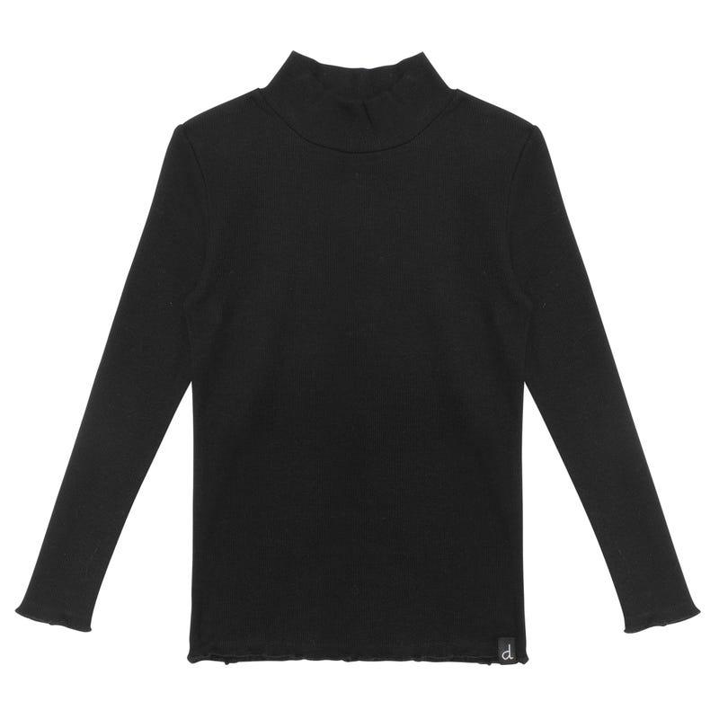 T-shirt Col Roulé Basique 7-10ans