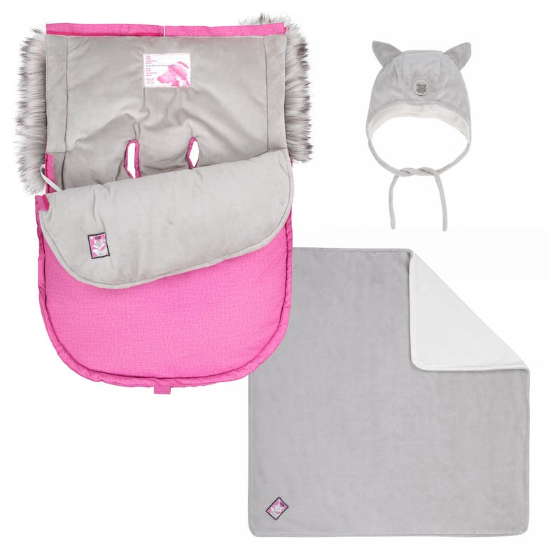 Car Seat Cover - Pink