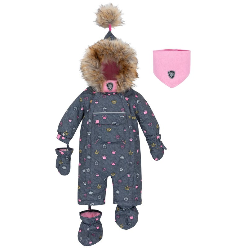 Princess Snowsuit 12-30m