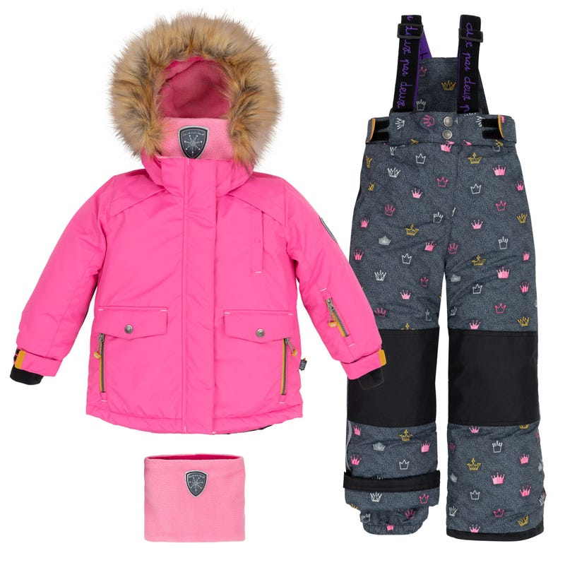 Princess Snowsuit 2-6