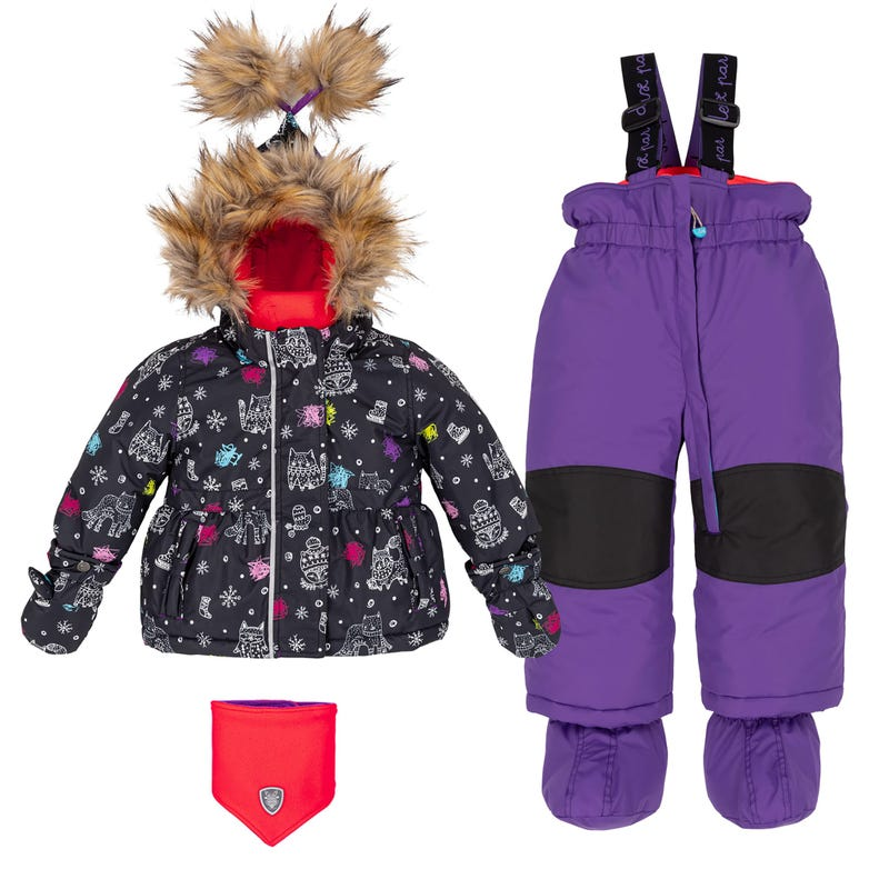 Cat 2pcs Snowsuit 18-30m