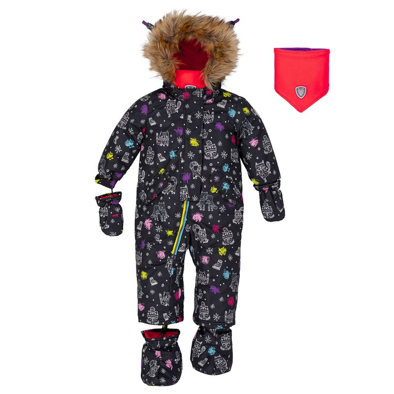 Cat Snowsuit 12-30m