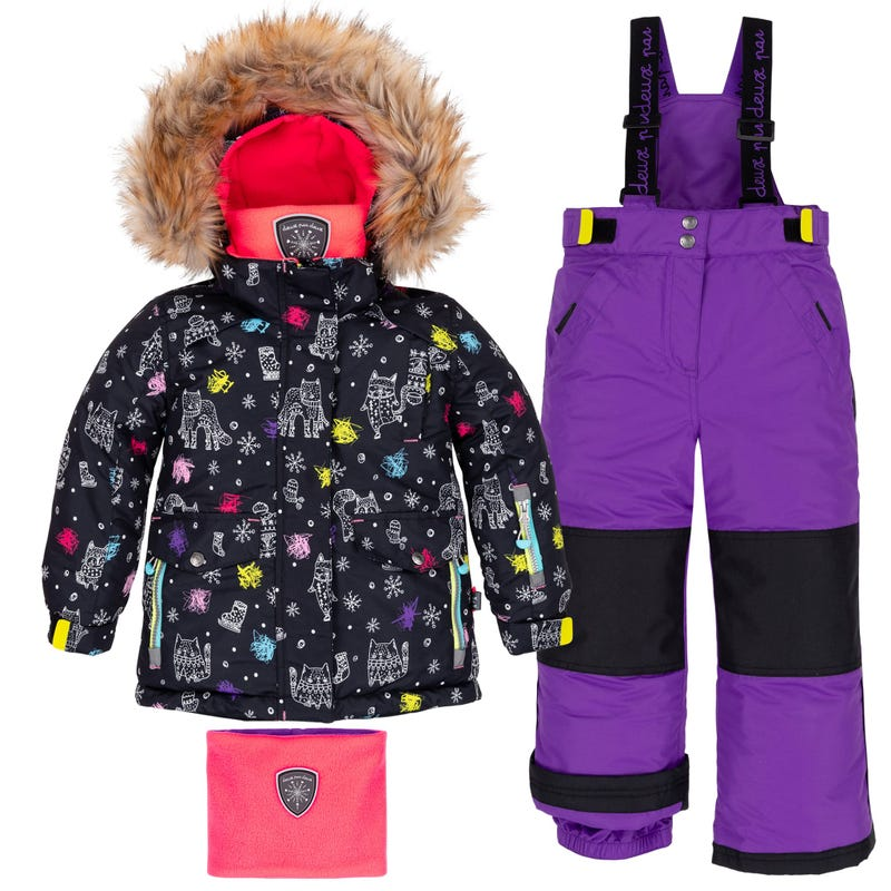 Cat Snowsuit 2-6