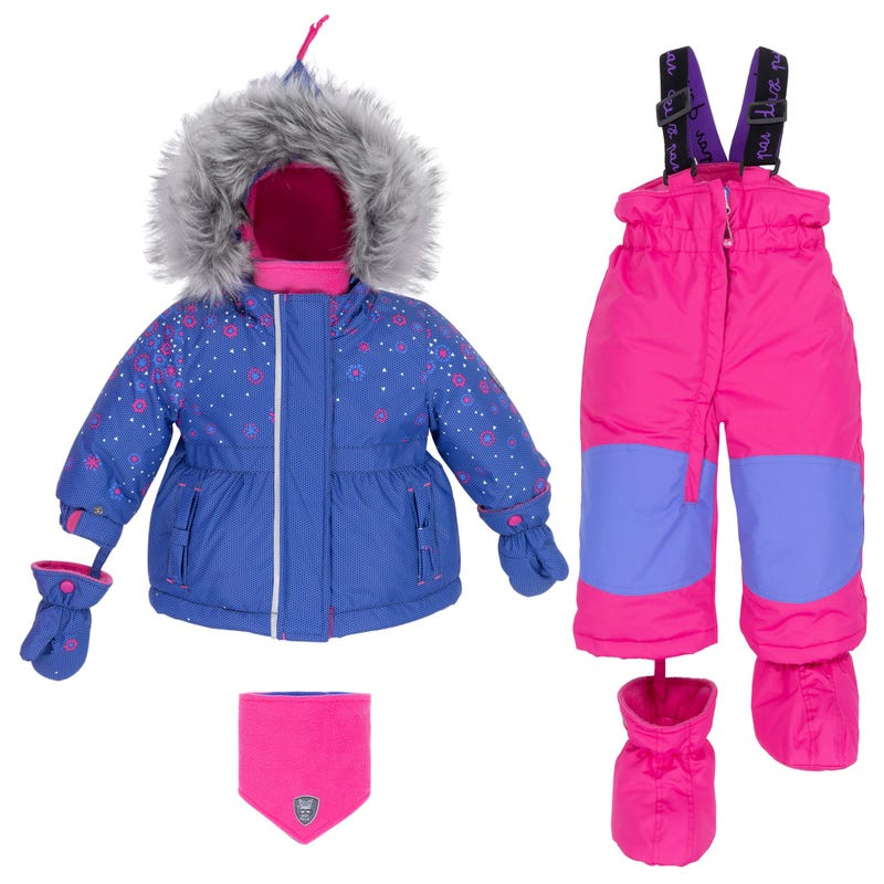 Flower 2pcs Snowsuit 18-30m