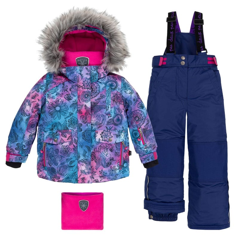 Unicorn Snowsuit 7-10