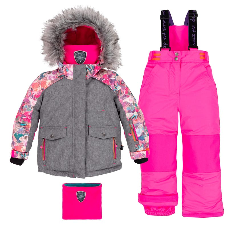 Ice Rose Snowsuit 7-10