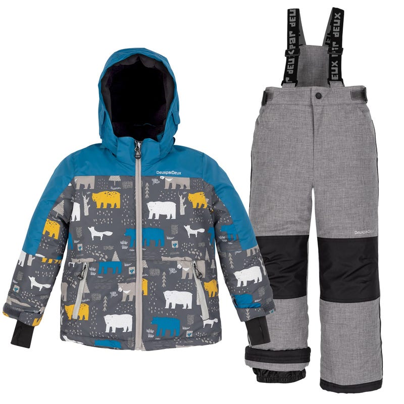 Bear Snowsuit 7-10y